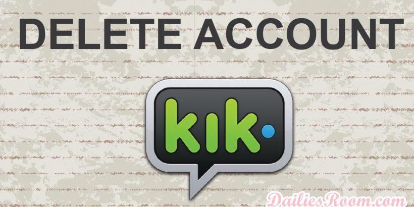 How to Delete Kik Messenger Account   De-activate Kik Account