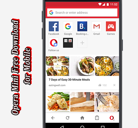 Opera Mini Free Download for Mobile - Opera Mini Latest Version