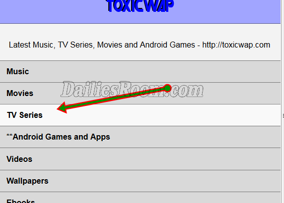 How to Download Latest Toxicwap TV Series Movies 2018 - www.toxicwap.com