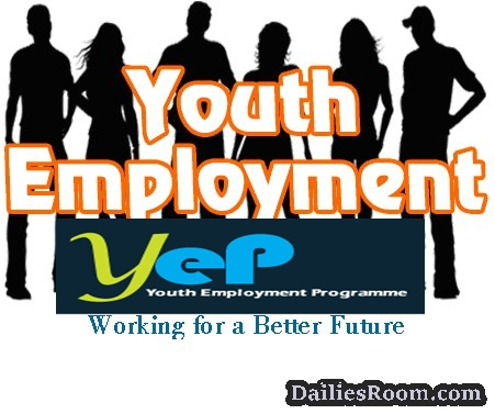 Registration for Youth Employment Programme {YEP} - Placement/Training