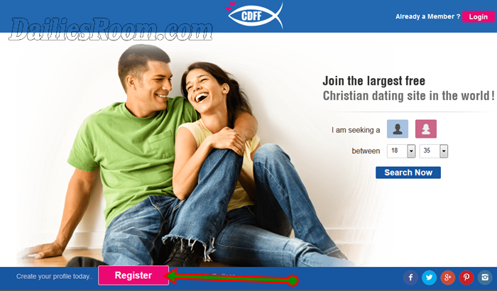 Christian Singles Sign Up Site for Men & Women at www.christiandatingforfree.com