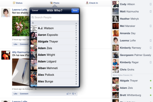 How To Tag Someone or Pages in Facebook Photo - Tag Friends in FB Posts