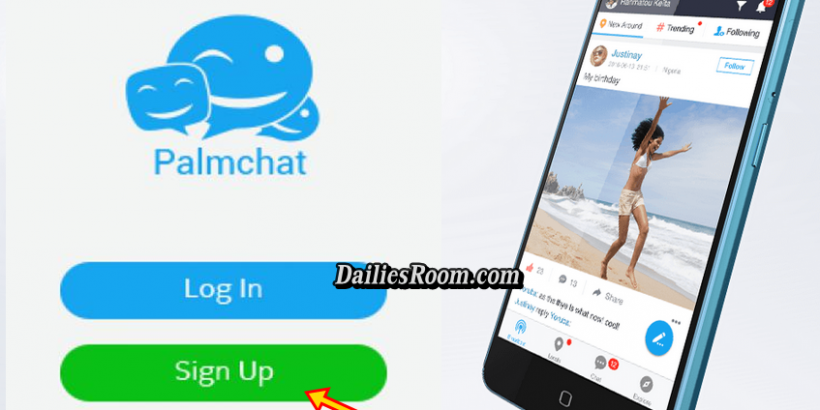 Create Palmchat Account With Phone Number - Login Palmchat Love