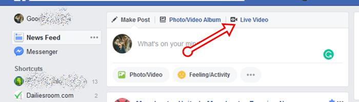 How To Start Desktop Facebook Live Audio Broadcast 2018-19 - FB Live Audio