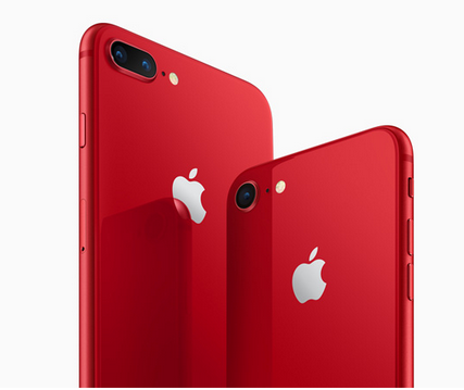 New Red iPhone 8 & iPhone 8 Plus Photos Apple Release With Latest Update