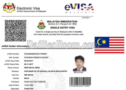 Malaysia Visa Application 2018/2019 Online Application Form - Apply Now