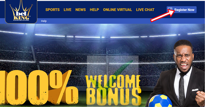 New BetKing Account Registration Steps - www.BetKing.com Sign Up