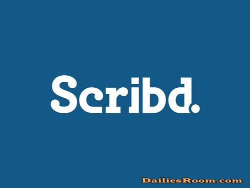 Steps To Scribd Free Trial Sign Up - Scribd Registration & Login
