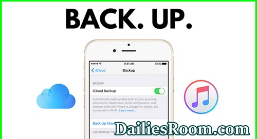 How To Backup iPhone To iCloud Or iTunes | Backup iOS Device
