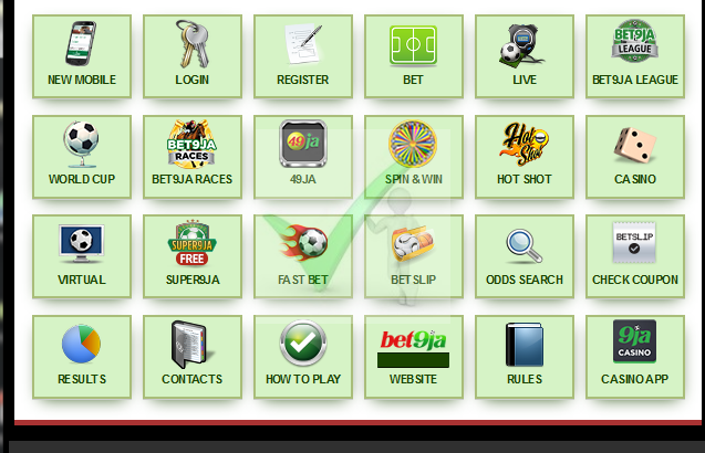 Old Mobile Bet9ja Registration Portal for New Bet9ja Mobile Registration