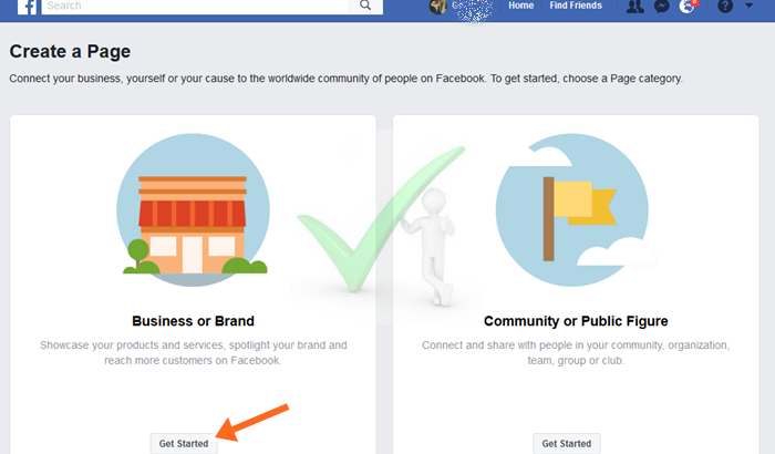 How to Create Personal Facebook Page - Facebook Help Center