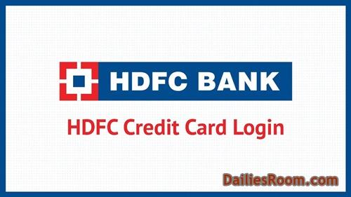 HDFC Bank Online Account - HDFC Credit Card Login   Register HDFC Credit Card