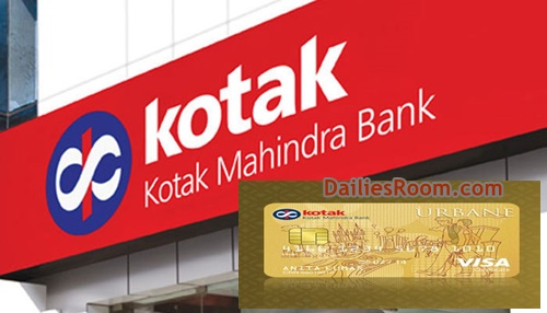 Kotak Credit Card Online Application | Kotak Credit Card Login