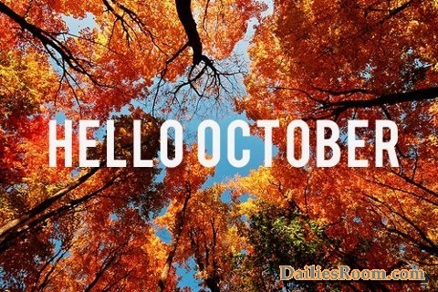 Happy New Month Messages - October Month Wishes & Quotes