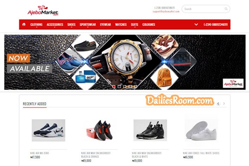 Ajebomarket Online Sign Up For Men's Wears - Ajebomarket Review