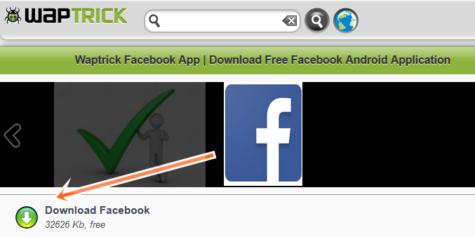 Waptrick Facebook Login After Waptrick Facebook Application Download