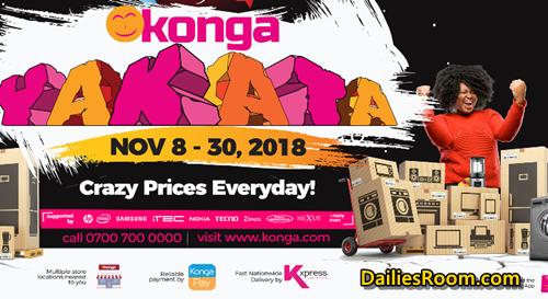 Konga Yakata Deals, Discounts & Date - Konga Yakata 2018
