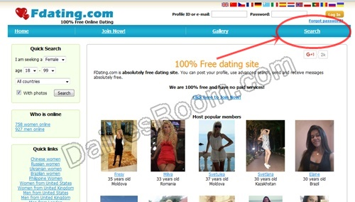 Fdating.com/Search Profile - FDating Singles Search Without Registration