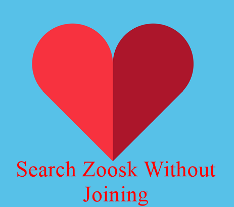 Search Zoosk Without Joining on ZOOSK.COM ONLINE DATING SITE