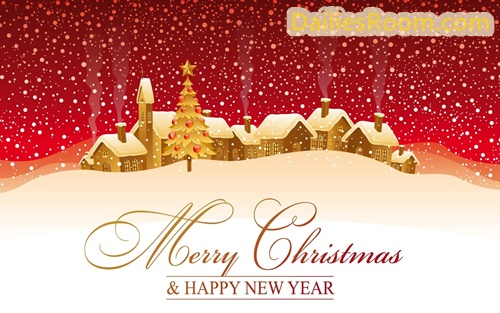 Merry Christmas Messages & Happy New Year Wishes For Loved Ones