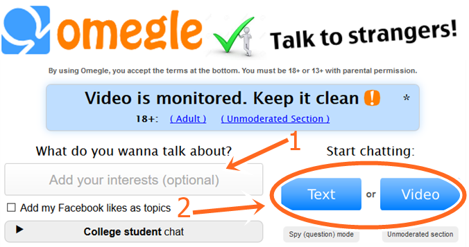How to Chat Girls Only on Omegle free online chat With No Sign Up