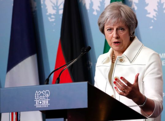 British Prime Minister Theresa May Result After Surviving Vote
