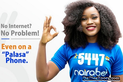 How To Create Nairabet Account Using USSD Code [*5447# ]