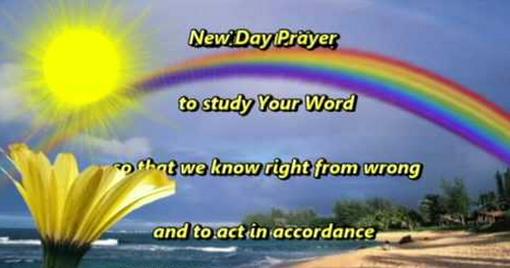 Prayer For New Day