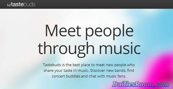 www.tastebuds.fm Review: Tastebuds Registration To Meet New People