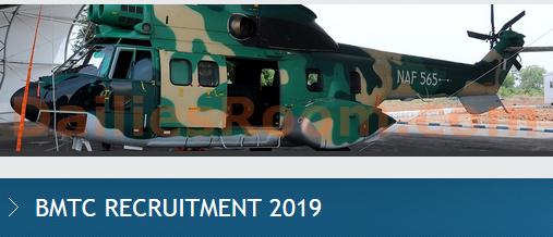 2019 Nigerian Air Force Registration Recruitment & Requirements