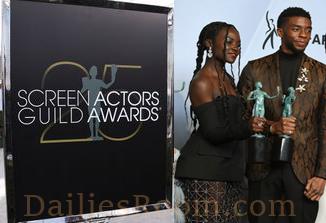 25th Screen Actors Guild Awards Winners List - 2019 SAG Awards Winners