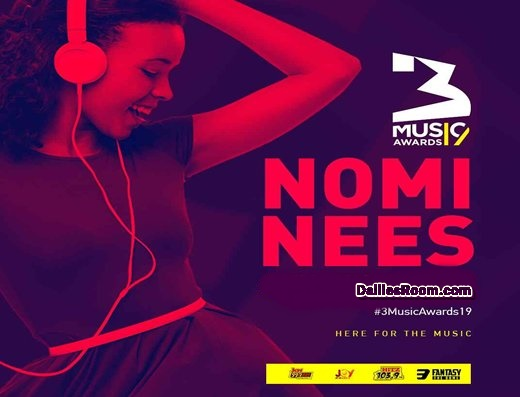 Full List Of 3Music Awards Nominees 2019: Shatta Wale, R2Bees & More