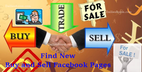 Facebook Buy Sell Pages - Find New Buy and Sell Facebook Pages