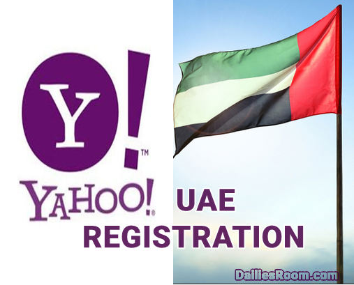 United Arab Emirates Yahoo Sign Up | UAE Email Account Registration