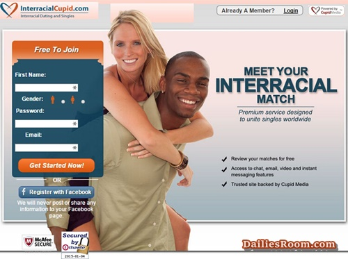 Interracialcupid Online Dating Site: Interracialcupid Registration & Login