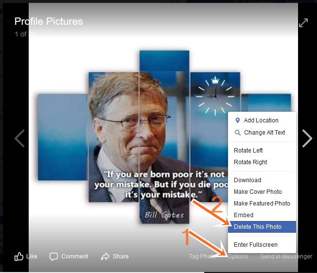 Delete Shared Photos on Facebook Profile For Free - FB.com Deletion