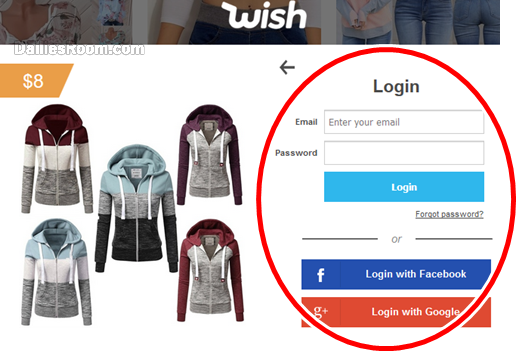 Wish Shopping Sign In | Wish Login With Email, Facebook & Google