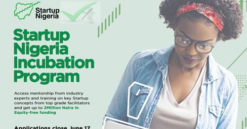 Startupnigeria.ng Online Application | Startup Nigeria Registration