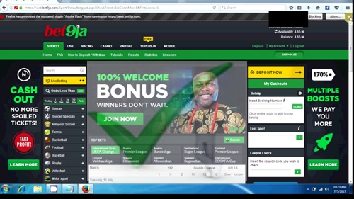 Steps To Sports Bet9ja Mobile Sign Up - www.register.bet9ja.com
