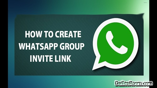 How To Create Whatsapp Group Link & Invite Friends