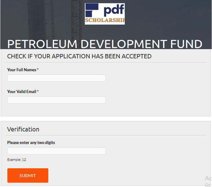 How To Apply Free Petroleum Development Fund Scholarship & Requirements