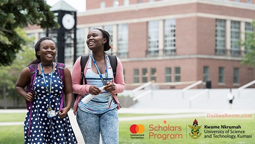Applications For Mastercard Foundation Scholarship 2021/22 At KNUST